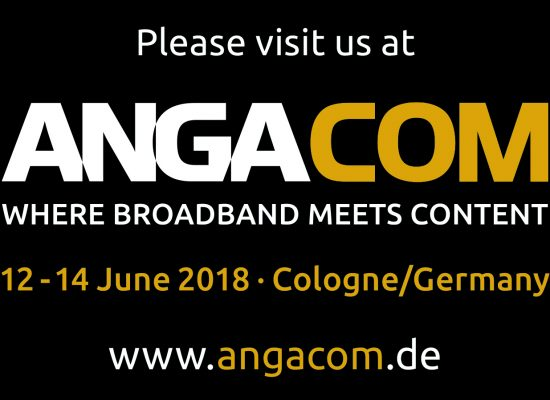 Meet us at Anga Com