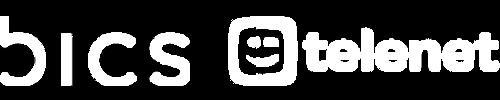 BICS and Telenet logos