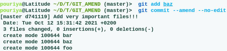 fix commit files